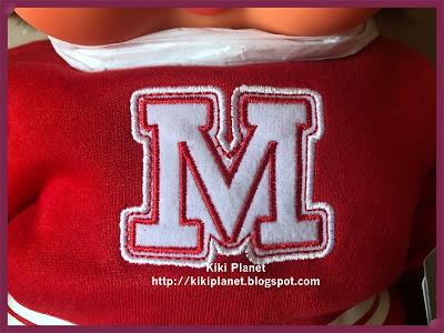 kiki Monchhichi Red Sweater Girl 45cm L Size 241460
