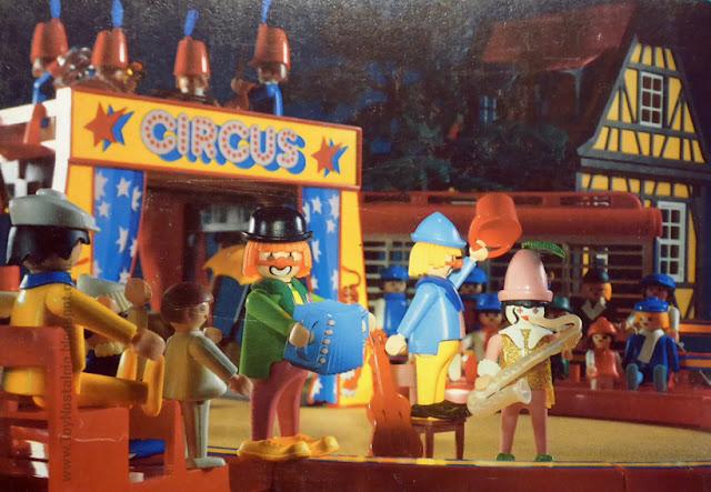 Playmobil 3392 Payasos Músicos Clown Act Musik Clowns