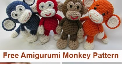 Little Bigfoot Monkey Revised Pattern Video Tutorial | 221x420
