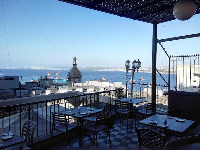 "Valparaíso desde el restaurante ""Pasta e vino"""