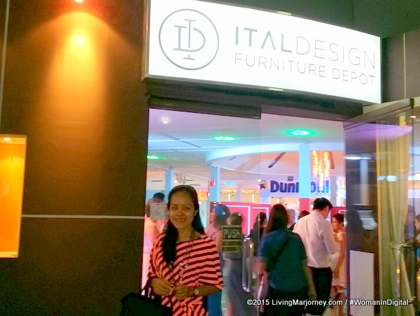 The Dunlopillo Showroom at Ital Design BGC