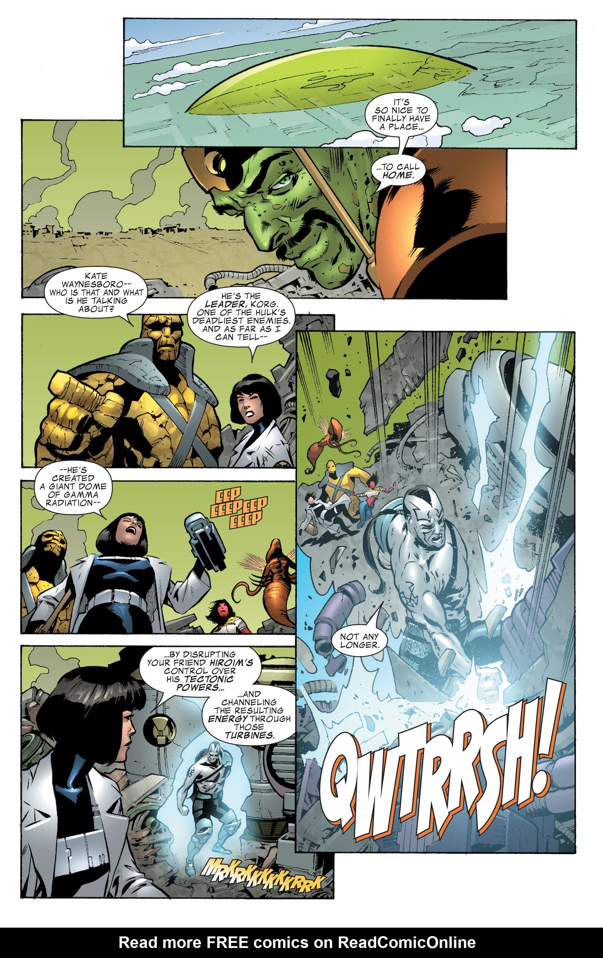 Read online World War Hulk Aftersmash: Warbound, Vol. 1 comic -  Issue #2 - 6