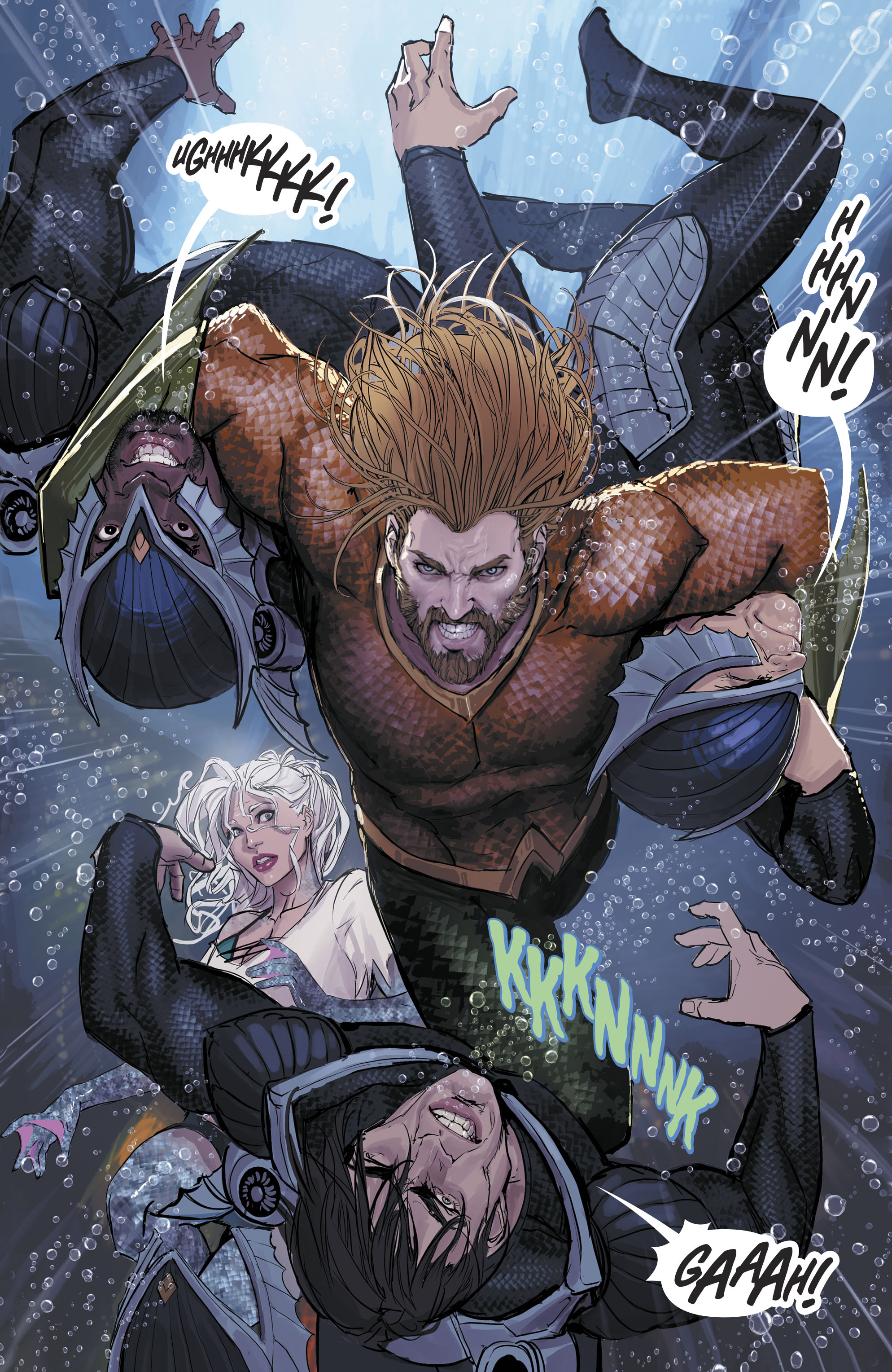 Read online Aquaman (2016) comic -  Issue #25 - 25