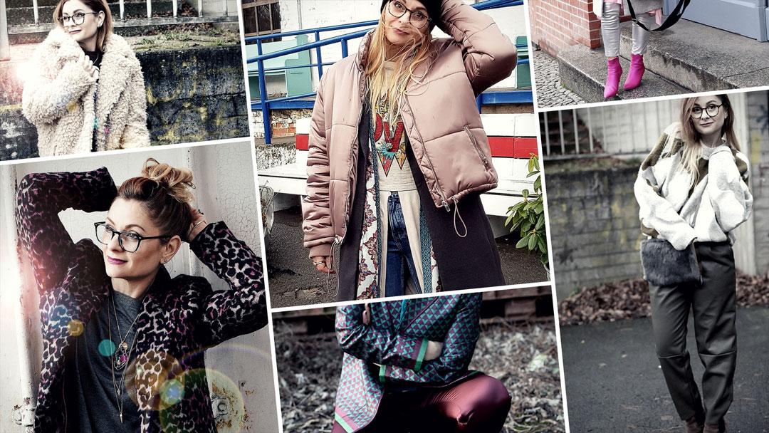 verschiedene Looks und Outfits für den Winter, Ü40 Blog, Ü40 Modeblog