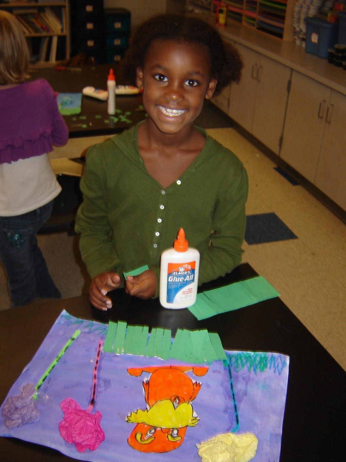 Jamestown Elementary Art Blog 1st Grade Lorax
