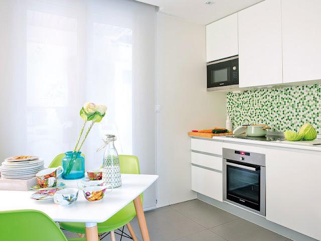 Tonuri vesele de culoare ntr un apartament din madrid for Al saffar interior decoration l l c