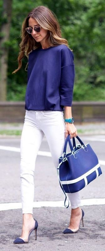 Summer Office Outfit Idea for Business Women