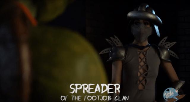 Lanzan película parodia de Tortugas Ninjas para adultos