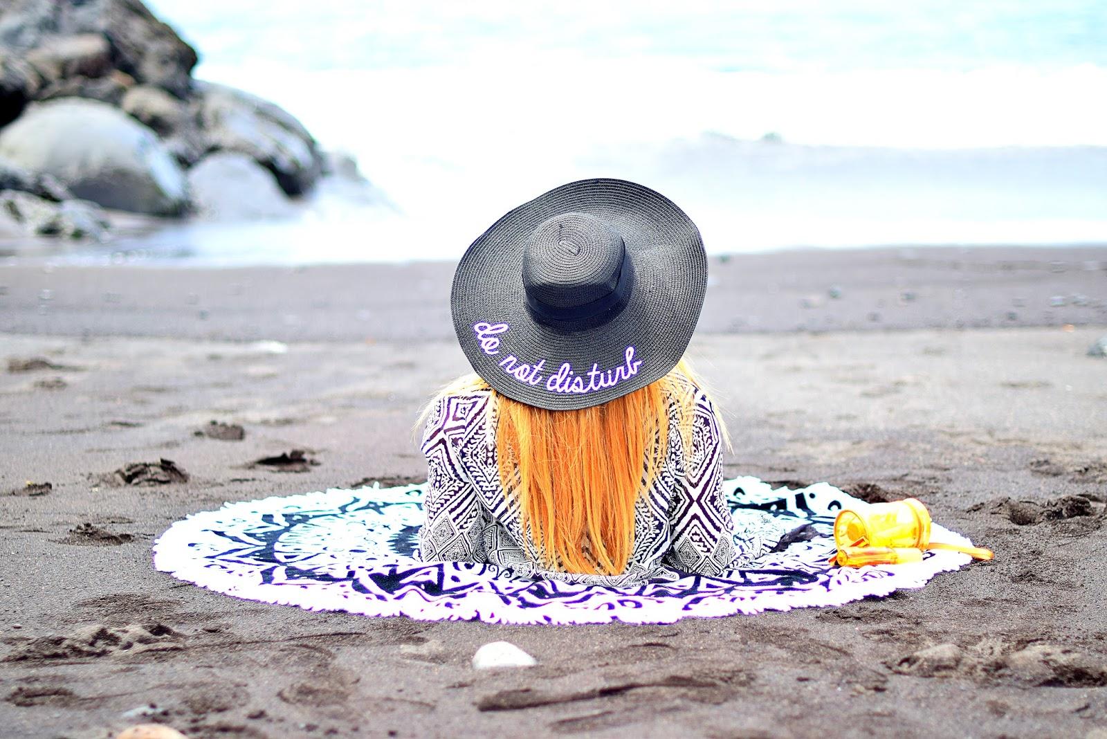 KIKO milano, wholesale7, summer look, suncare routhine, toalla mandala, sombrero