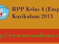 Download RPP Kelas 4 Kurikulum 2013 Terbaru