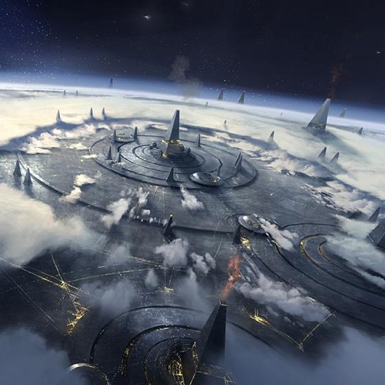 Stellaris Giant Enterprise Wallpaper Engine