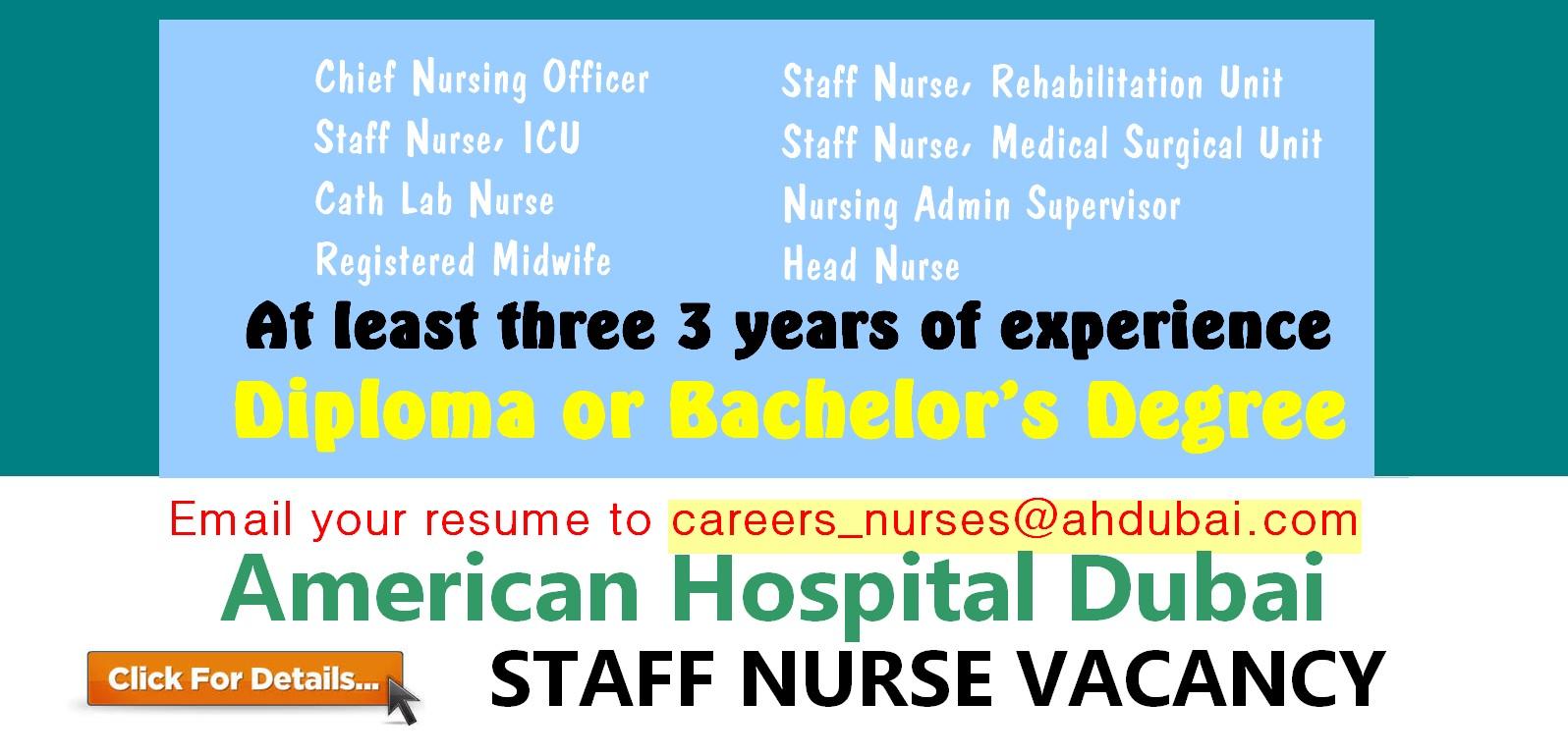 head nurse job description
