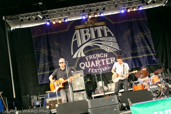 2015 French Quarter Festival The Iguanas Abita Beer Stage