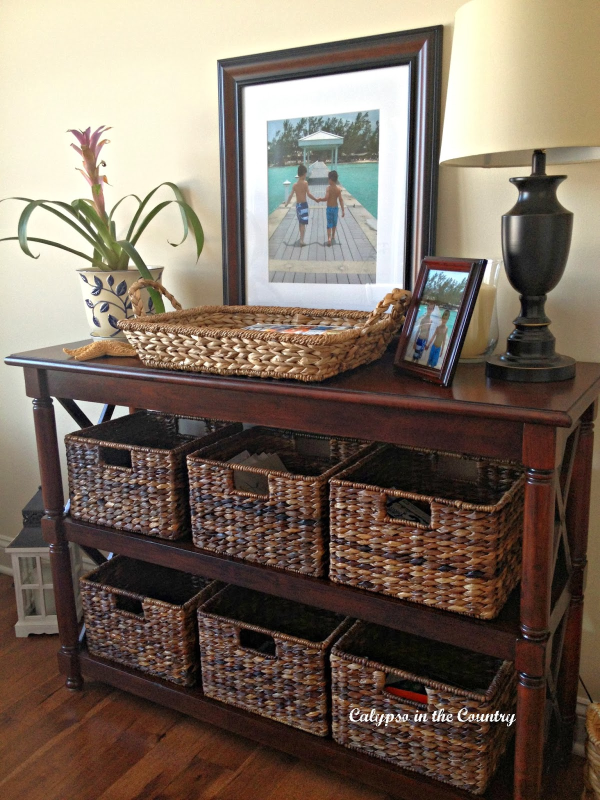 Seagrass Baskets for Organization