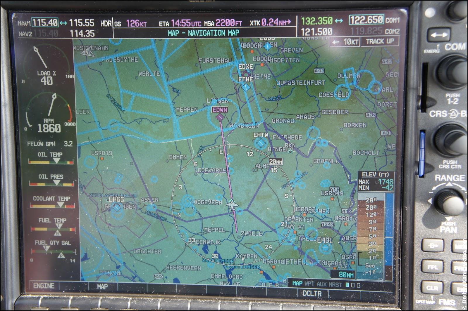 Navigation screen.