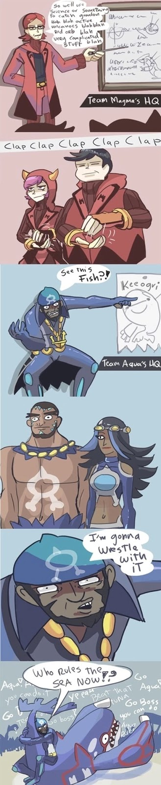 team aqua is the best funny comic