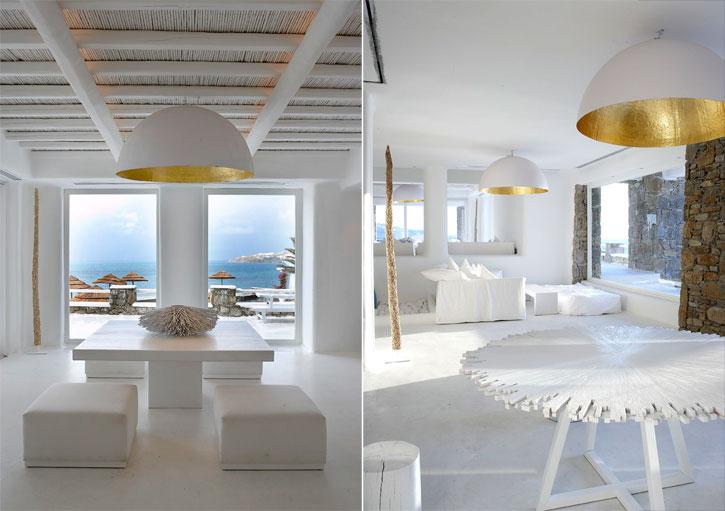 Home Design Shiny Interior Design Of Cavo Tagoo Hotel
