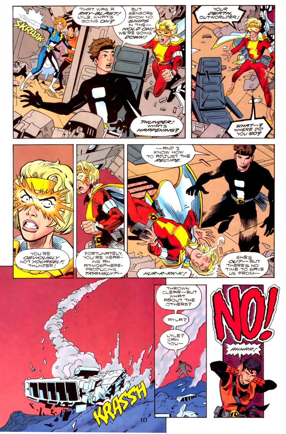 Legion of Super-Heroes (1989) 111 Page 10