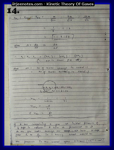 Kinetic Theory Of Gases14