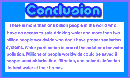 Natural Water Purification