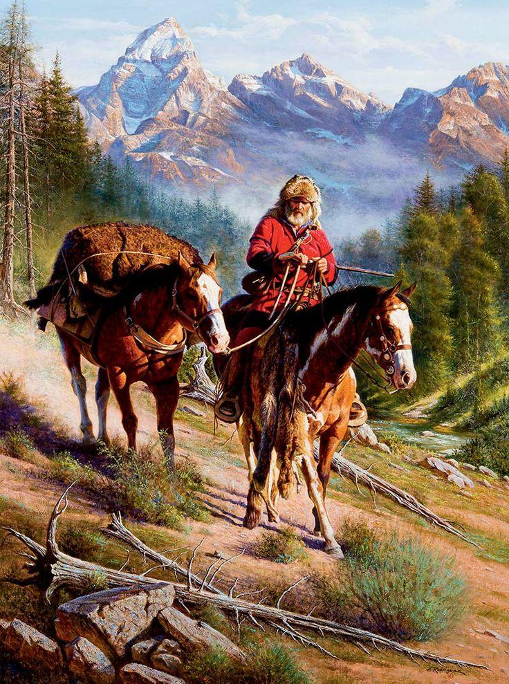 Horizontes de grandeza. La fauna de la Conquista del Oeste. 2 - Pieles para  el Presidente. 98bbd709098