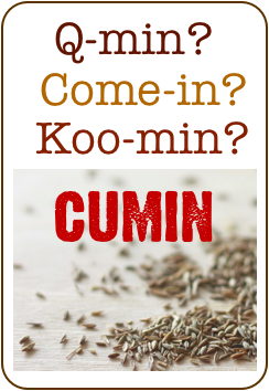 how to pronounce cumin