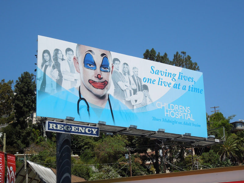 Childrens Hospital 4 Adult Swim billboard