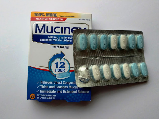 Mucinex 12 hour cough and mucus relief #ad