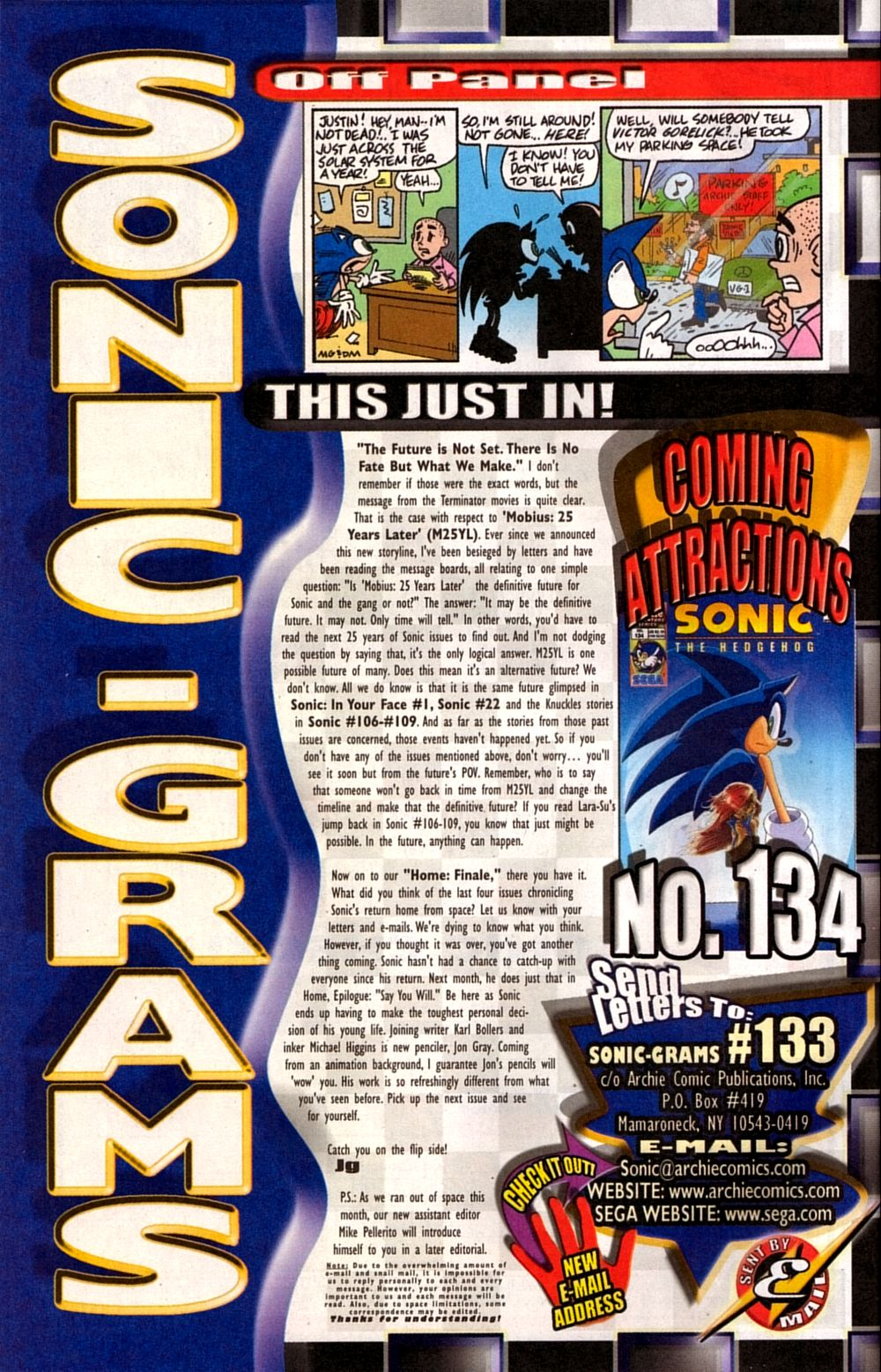 Read online Sonic The Hedgehog comic -  Issue #133 - 32