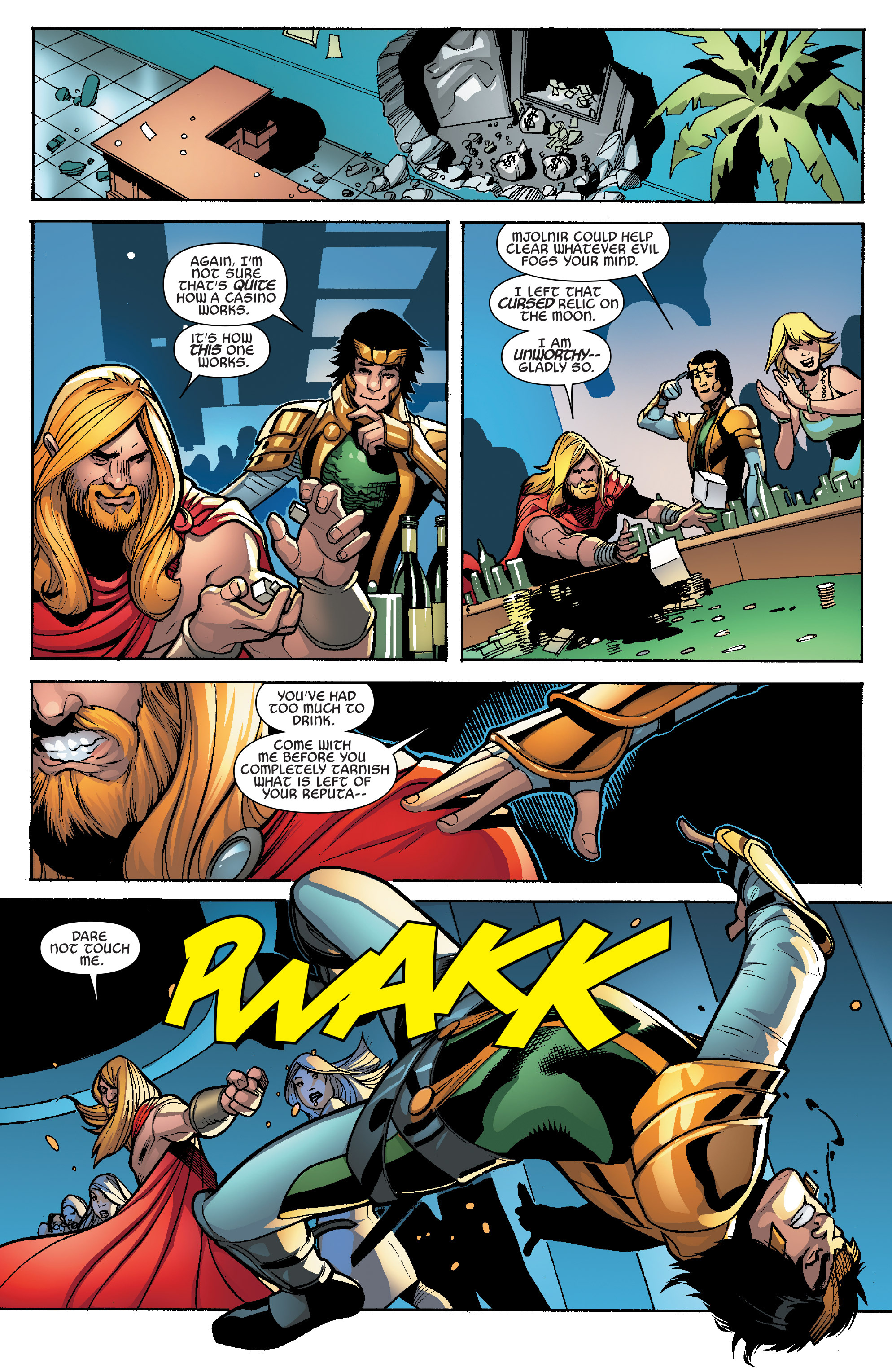 Read online Avengers & X-Men: AXIS comic -  Issue #6 - 20