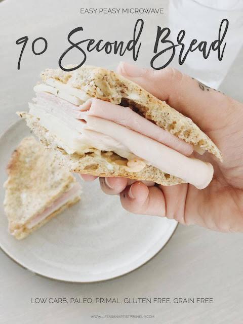 paleo primal gluten free bread