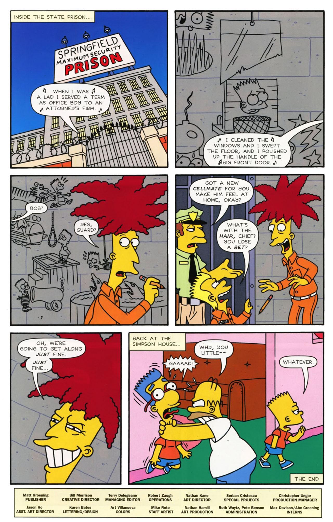 Read online Simpsons Comics comic -  Issue #169 - 26