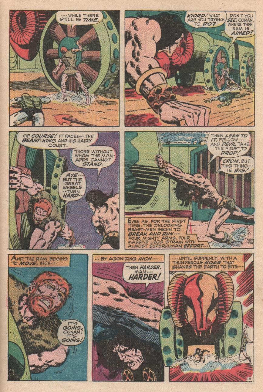 Conan the Barbarian (1970) Issue #2 #14 - English 19