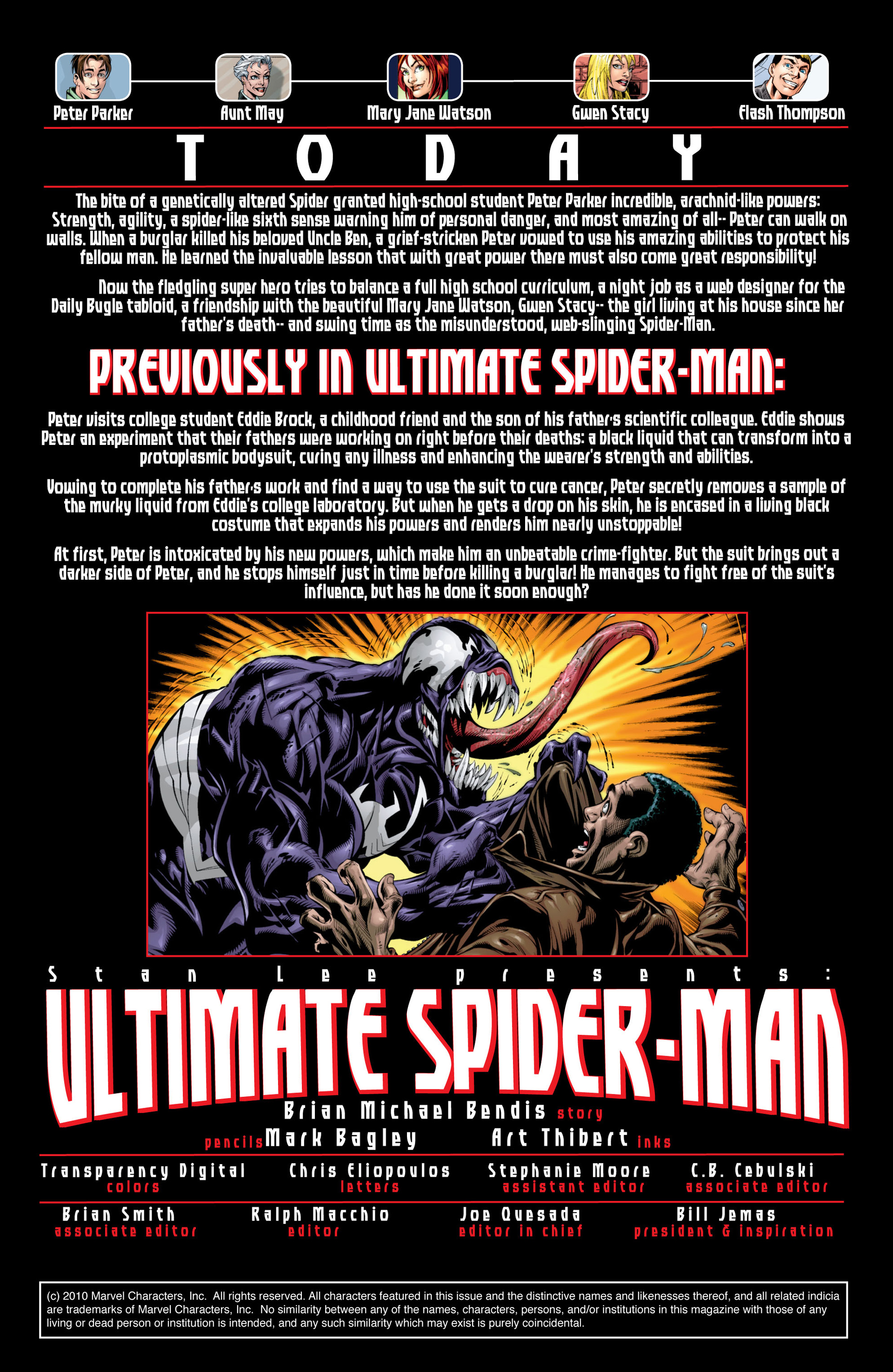 Read online Ultimate Spider-Man (2000) comic -  Issue #36 - 2