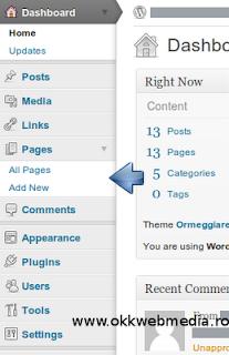 tutoriale wordpress -adaugare pagina