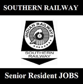 Southern Railway, SR, Tamil Nadu, TN, Railway, RAILWAY, Indian Railway, Senior Resident, Graduation, freejobalert, Sarkari Naukri, Latest Jobs, southern railway logo