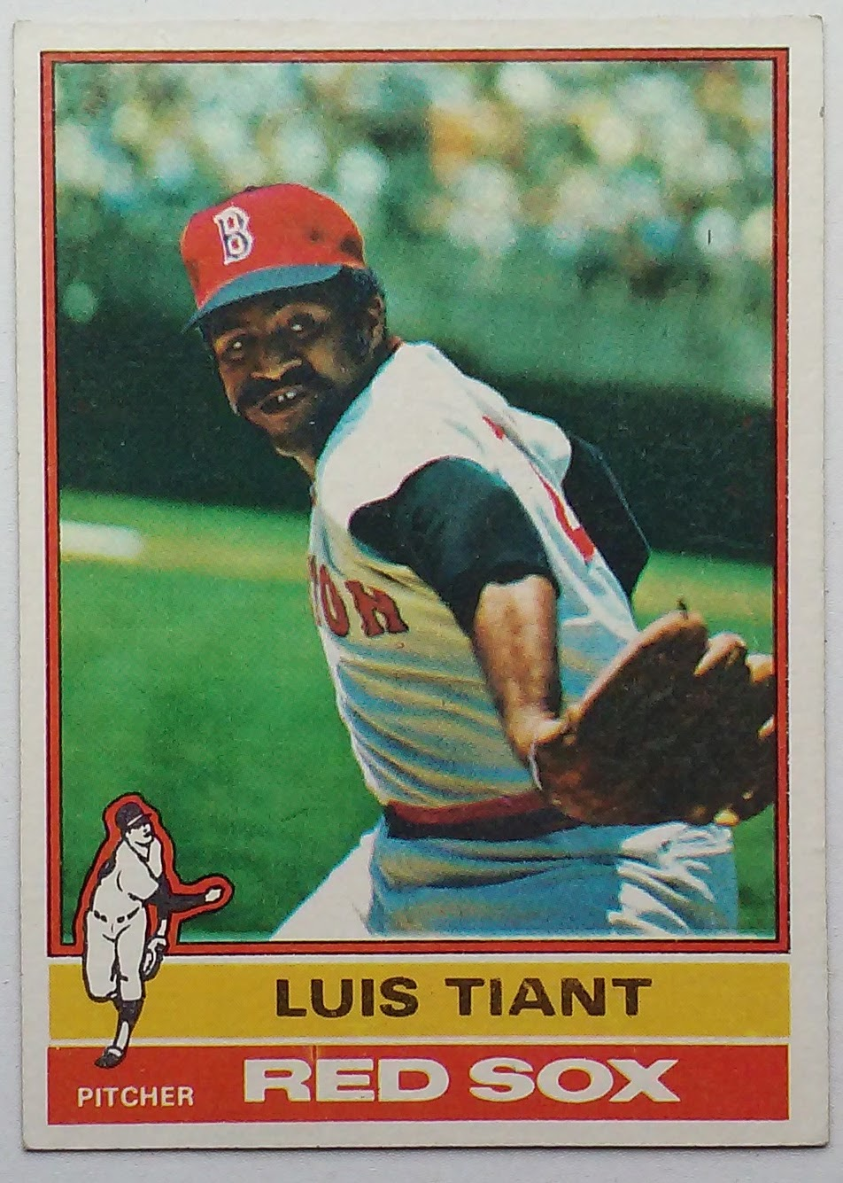 Phungo 1976 Asg 40 Luis Tiant 1976 Topps 130