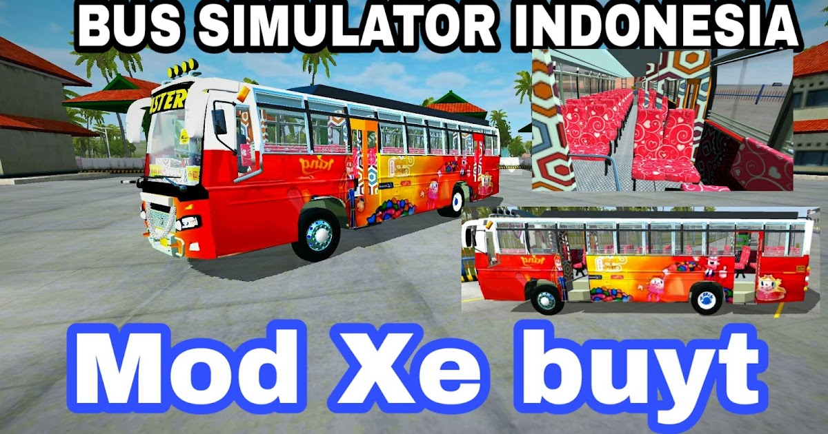 Skin Xe Việt Nam Mod Bus Simulator Indonesia