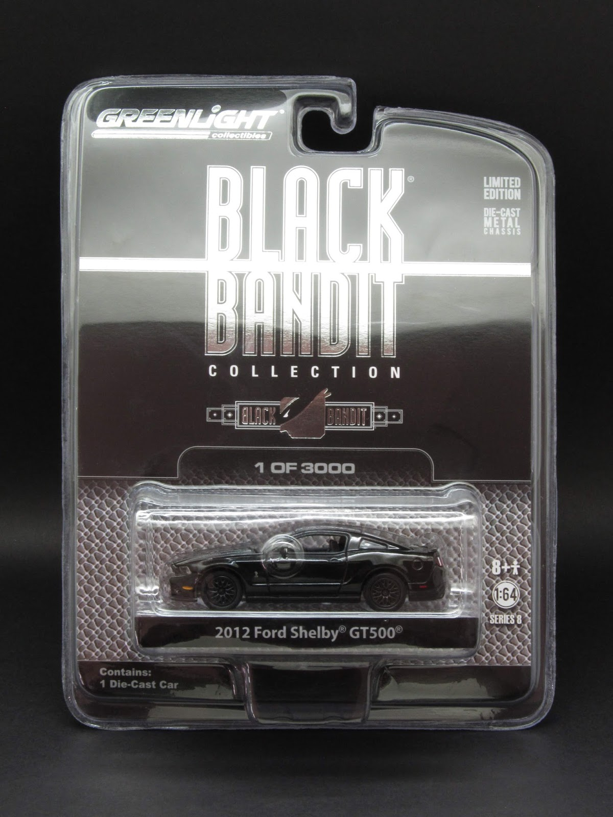 South County Chrysler >> Diecast Hobbist: Greenlight Black Bandit - Series 8