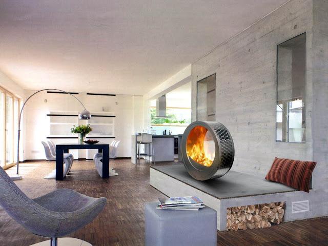 Советы дизайнеров. Камин в гостиной