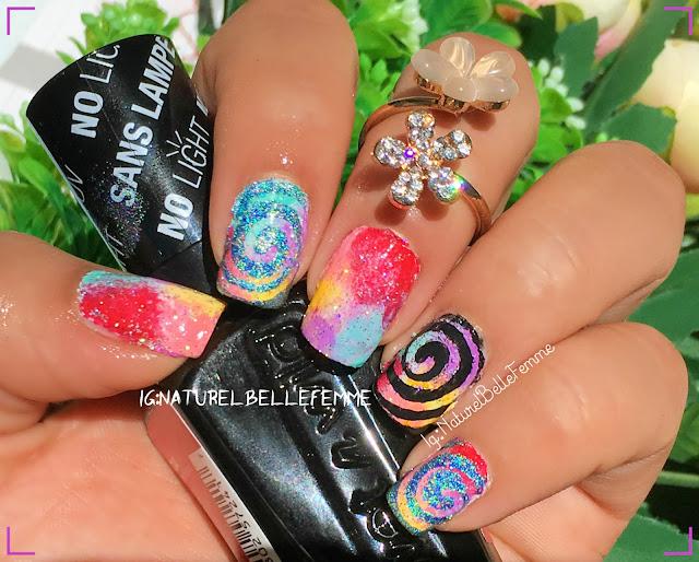 nail vinyls manicure