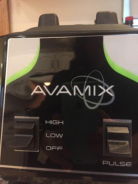 The simple, no-frills base of the Avamix blender I bought on Webstaurantstore.com