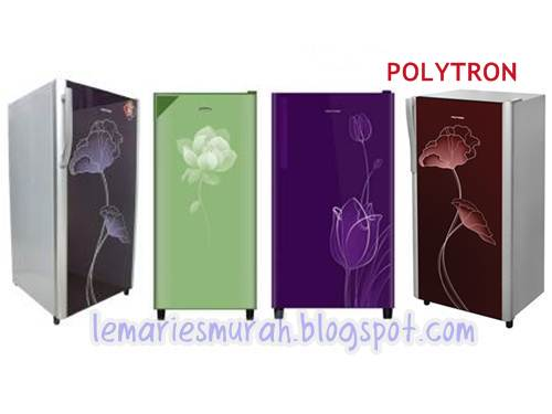 Daftar Harga Kulkas Polytron Belleza 1 Pintu Motif Bunga