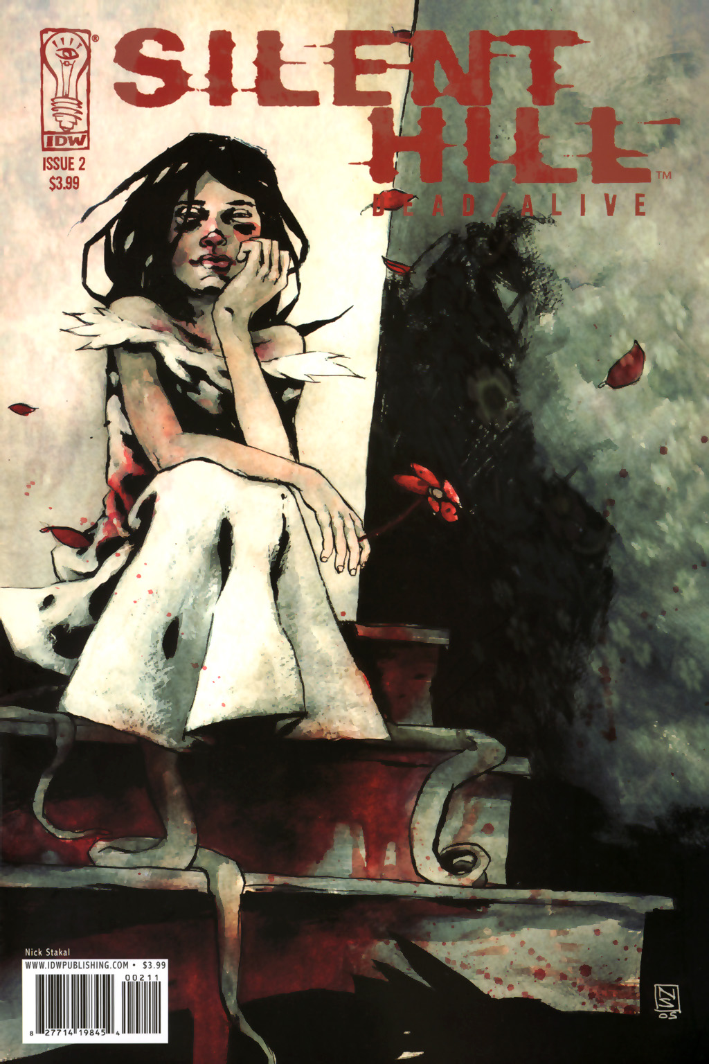 Read online Silent Hill: Dead/Alive comic -  Issue #2 - 2