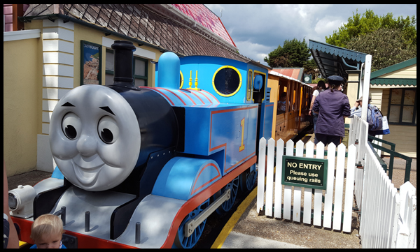 Thomas Experience at Drusillas
