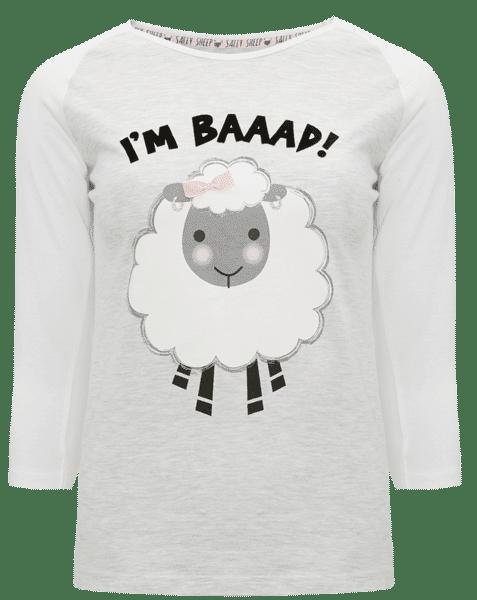 Top de pijama de oveja Sally I am baaad
