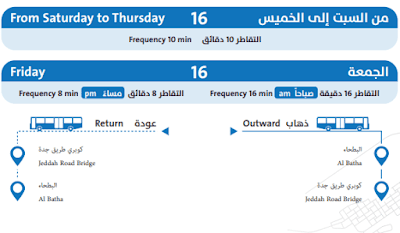 RIYADH LOCAL BUS SERVICE ROUTE 16