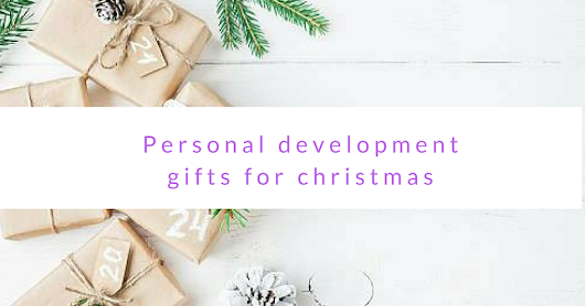 Personal development gifts for christmas x a giveaway