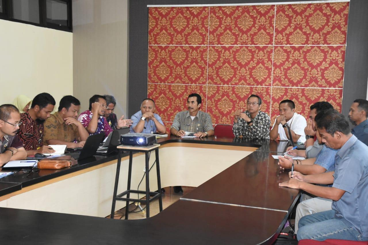 Pemkab Wonosobo Meminta Probity Advice LKPP RI  Untuk Pembangunan Pasar Induk Wonosobo