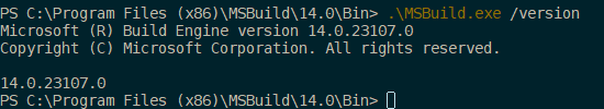 Build Tools 2015